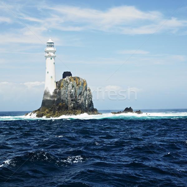 lighthouse, Fastnet Rock, County Cork, Ireland Stock photo © phbcz