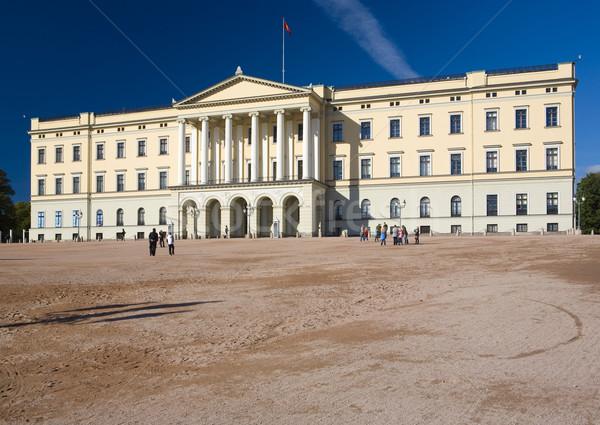 ロイヤル 宮殿 オスロ ノルウェー 建物 アーキテクチャ ストックフォト © phbcz