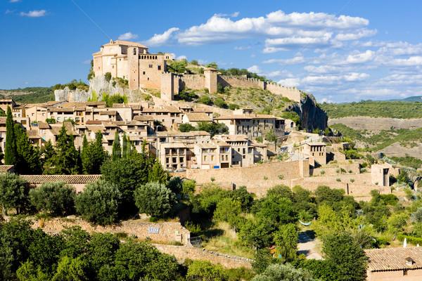 Alquezar, Huesca Province, Aragon, Spain Stock photo © phbcz