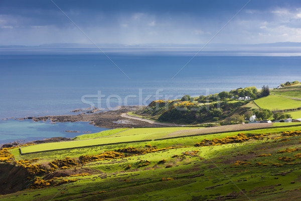 landscape near Helmsdale, Highlands, Scotland Stock photo © phbcz