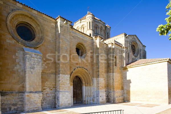 church of Colegiata de Santa Maria, Toro, Zamora Province, Casti Stock photo © phbcz