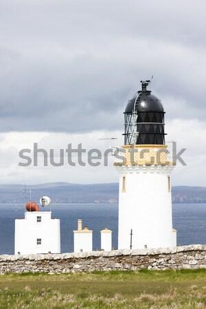 Cabeza faro tierras altas Escocia edificio océano Foto stock © phbcz