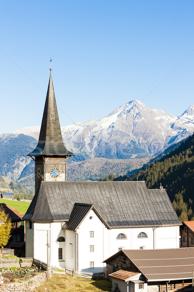 Rueras, canton Graubunden, Switzerland Stock photo © phbcz