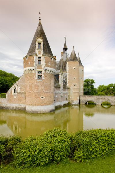 Stock photo: Chateau du Moulin, Lassay-sur-Croisne, Centre, France