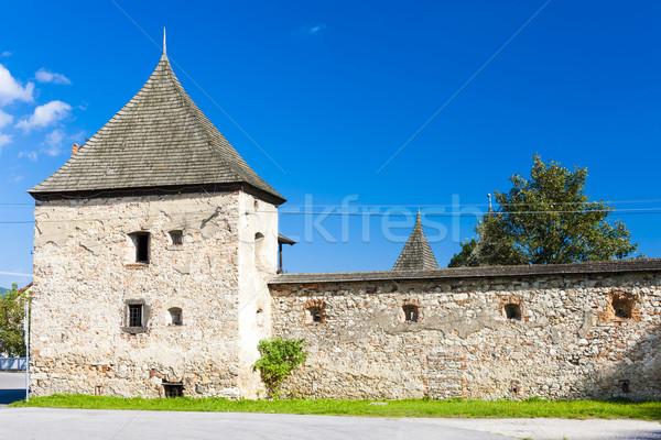 Kale Slovakya kale mimari Avrupa tarih Stok fotoğraf © phbcz