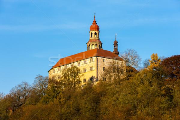 Saray Çek Cumhuriyeti Bina seyahat mimari Avrupa Stok fotoğraf © phbcz
