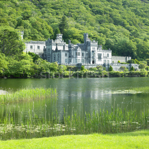 Kylemore Abbey, County Galway, Ireland Stock photo © phbcz