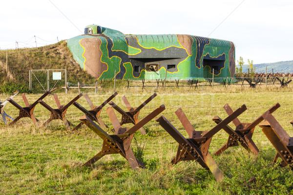 Csehország építészet Európa történelem kint szimbólum Stock fotó © phbcz