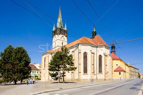 Church of St. Nicholas, Presov, Slovakia Stock photo © phbcz