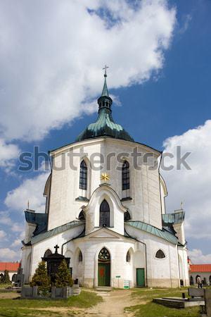 Iglesia Polonia ciudad arquitectura Europa historia Foto stock © phbcz