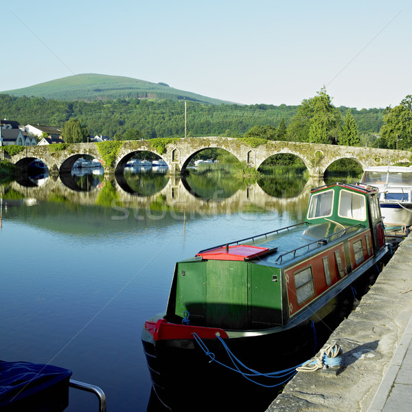 Graiguenamanagh, County Kilkenny, Ireland Stock photo © phbcz