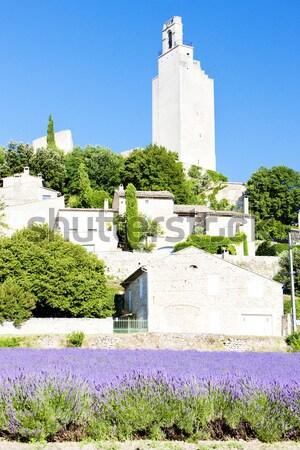 Afdeling Frankrijk gebouwen architectuur huizen geschiedenis Stockfoto © phbcz