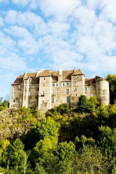 Boussac Castle, Creuse Department, Limousin, France Stock photo © phbcz