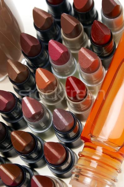 lipsticks and glazewear Stock photo © phbcz