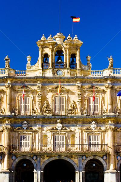 Główny placu Hiszpania budynku architektury zewnątrz Zdjęcia stock © phbcz