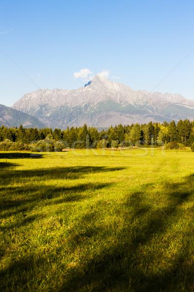 Montanha alto Eslováquia paisagem montanhas europa Foto stock © phbcz