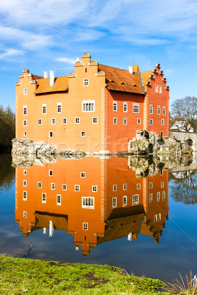 palace Cervena Lhota, Czech Republic Stock photo © phbcz