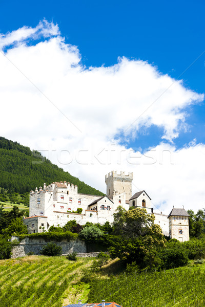 Coira Castle, Schluderns, Alto Adige, Italy Stock photo © phbcz