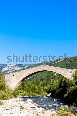 bridge Pont de la Reine Jeanne, Provence, France Stock photo © phbcz