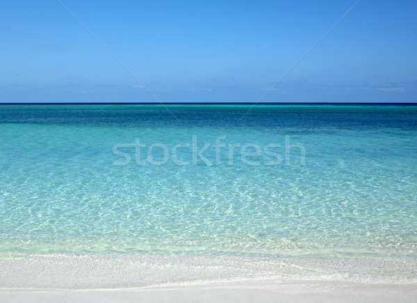 Atlantic Ocean, Guardalavaca, Cuba Stock photo © phbcz