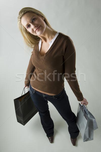 shopping woman Stock photo © phbcz