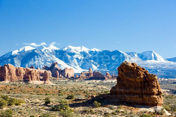 парка гор Юта США природы Сток-фото © phbcz