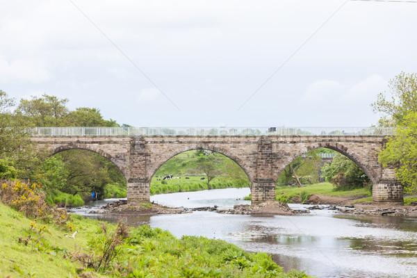 Escocia puente arquitectura Europa aire libre Reino Unido Foto stock © phbcz