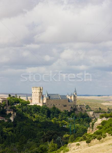 Alcazar fortress, Segovia, Castile and Leon, Spain Stock photo © phbcz