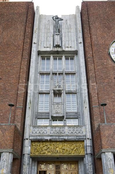 市 ホール オスロ ノルウェー 旅行 都市 ストックフォト © phbcz