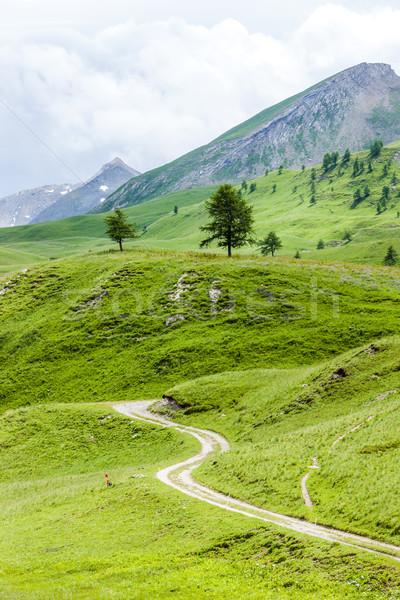 landscape of Piedmont near French borders, Italy Stock photo © phbcz