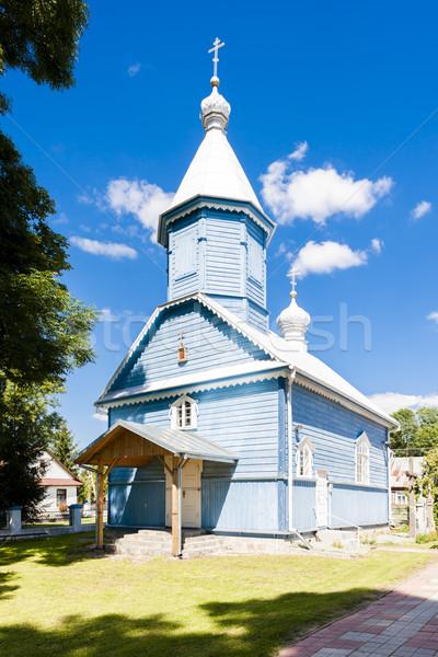 Ortodoks kilise Polonya Bina seyahat tarih Stok fotoğraf © phbcz