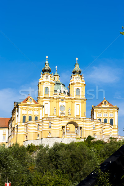 benedictine monastery in Melk, Lower Austria, Austria Stock photo © phbcz