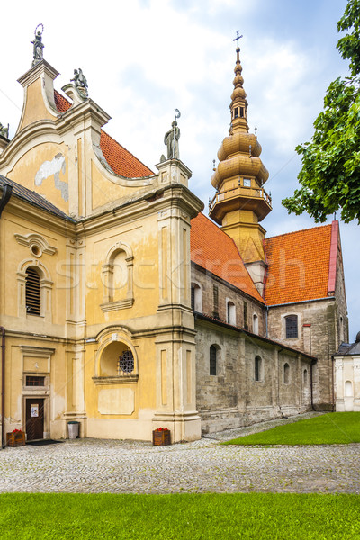 Saint Florian Church, Koprzywnica, Swietokrzyskie Voivodeship, P Stock photo © phbcz