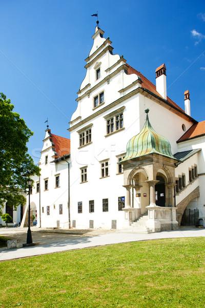 Square of Master Paul, Levoca, Slovakia Stock photo © phbcz