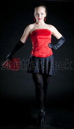 肖像 バレエダンサー ファン 女性 バレエ ストックフォト © phbcz