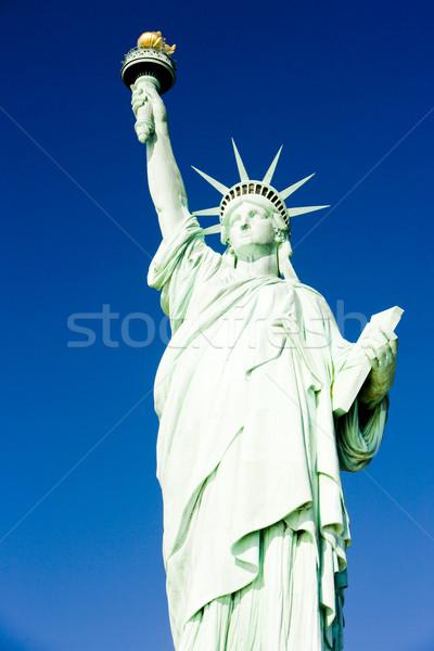 статуя свободы Нью-Йорк США путешествия Сток-фото © phbcz