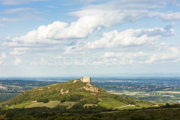 Kő Franciaország utazás Európa természetes kint Stock fotó © phbcz
