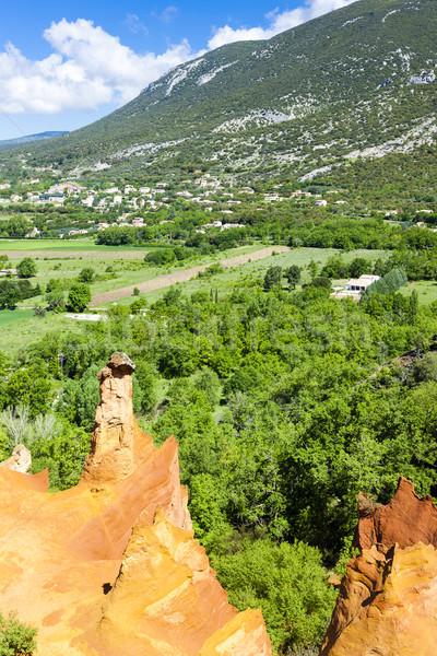 Zdjęcia stock: Colorado · Francja · podróży · rock · Europie · dekoracje