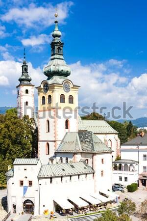 Città castello Slovacchia costruzione città viaggio Foto d'archivio © phbcz