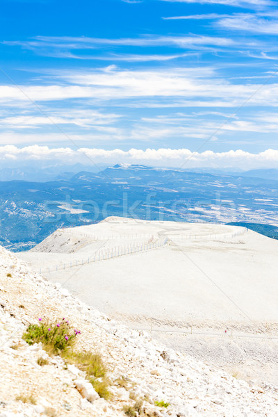 view from Mont Ventoux, Provence, France Stock photo © phbcz