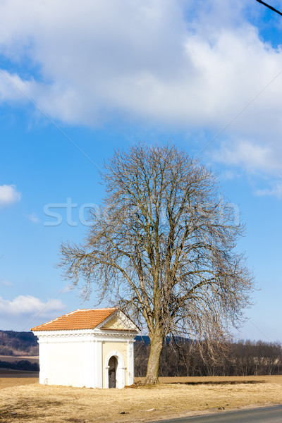 chapel near Kourim, Czech Republic Stock photo © phbcz