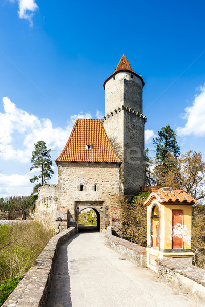 Castle Zvikov, Czech Republic Stock photo © phbcz