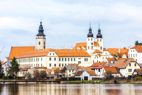 Tsjechische Republiek gebouw kerk reizen architectuur Europa Stockfoto © phbcz