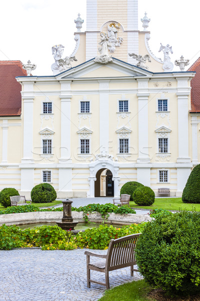 benedictine monastery with garden in Altenburg, Lower Austria, A Stock photo © phbcz