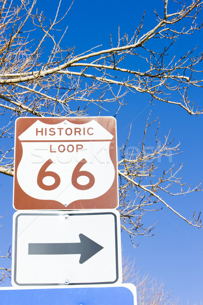 Ruta 66 Arizona EUA carretera Foto stock © phbcz