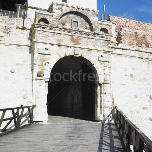 Forteresse Belgrade Serbie bâtiment architecture histoire Photo stock © phbcz