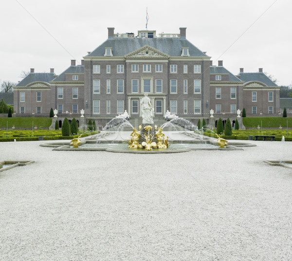 palace and gardens, Paleis Het Loo Castle near Apeldoorn, Nether Stock photo © phbcz