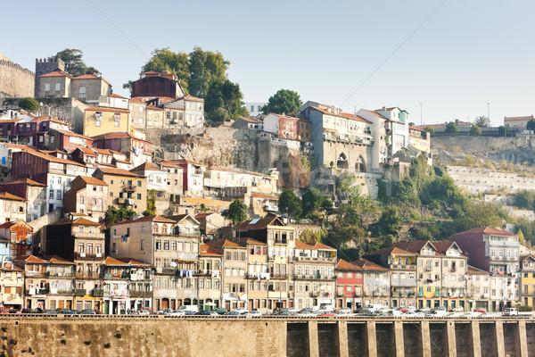quarter of Ribeira, Porto, Portugal Stock photo © phbcz