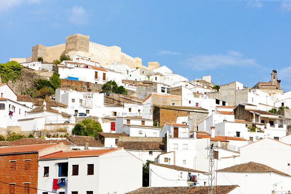 Aroche, Andalusia, Spain Stock photo © phbcz