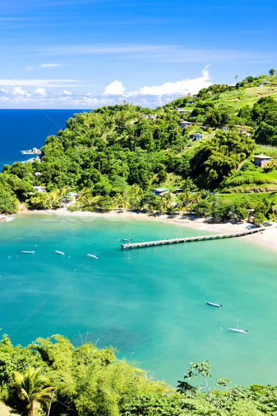 Parlatuvier Bay, Tobago Stock photo © phbcz
